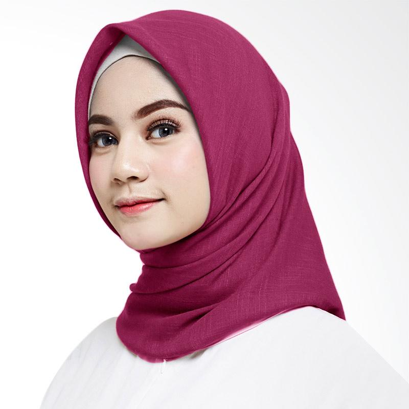 Cotton Bee Ayana Square Hijab Magenta