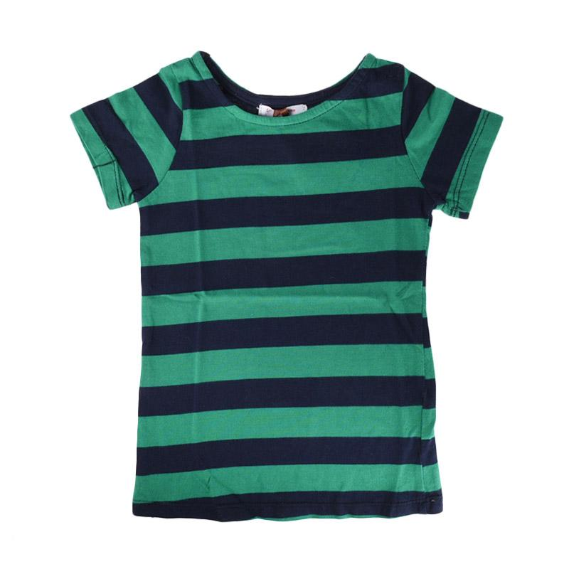 Cabriole 098 Adel & Audrey Top Shirt - Stripe Green