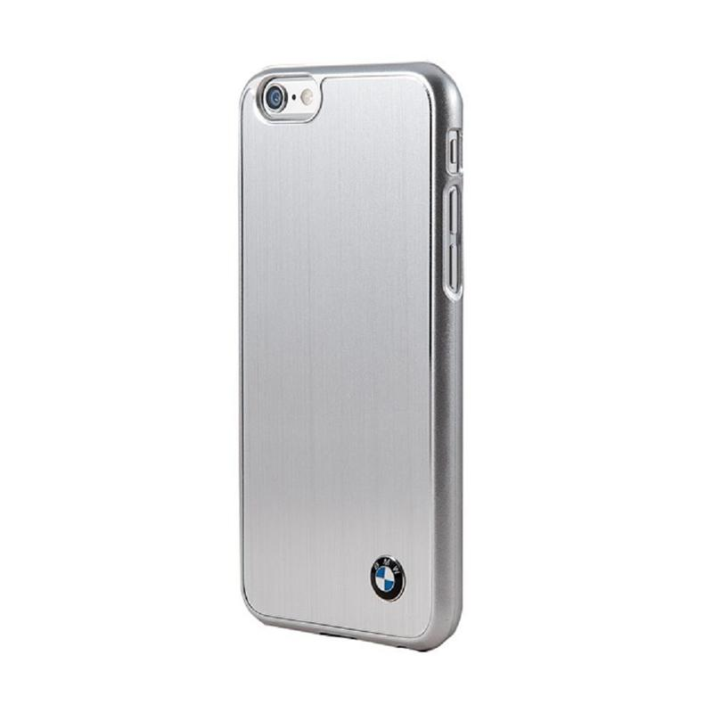 BMW Brushed Casing for iPhone 6 - Silver