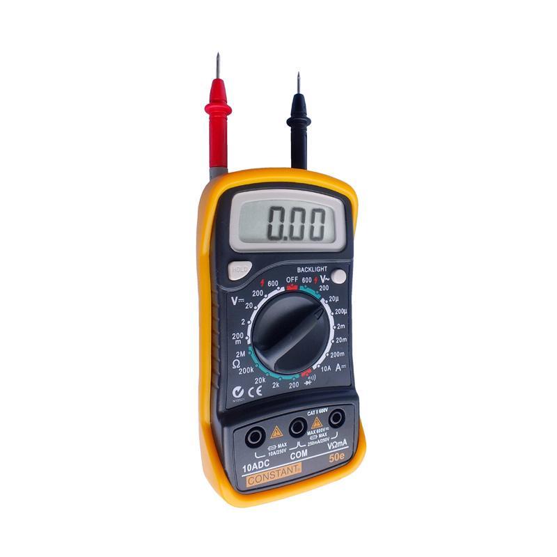 Constant DMM50E Digital Multimeter Perkakas Ukur