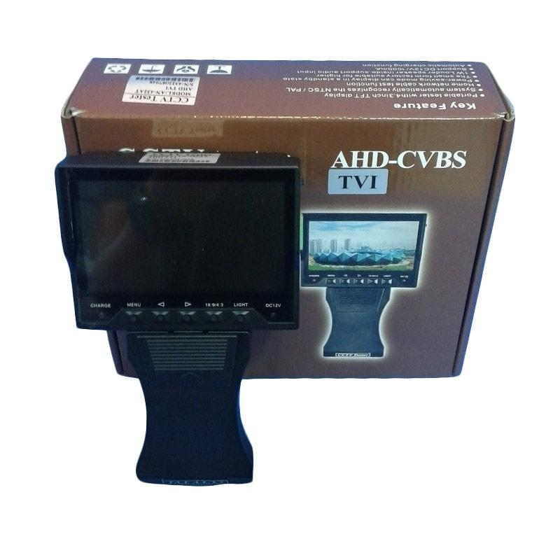 harga OEM CCTV Tester for TVI/AHD/Analog - Hitam Blibli.com