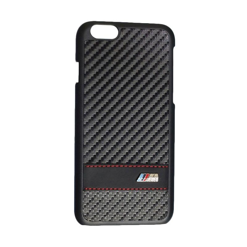 BMW Carbon Effect Casing for iPhone 6 - Black