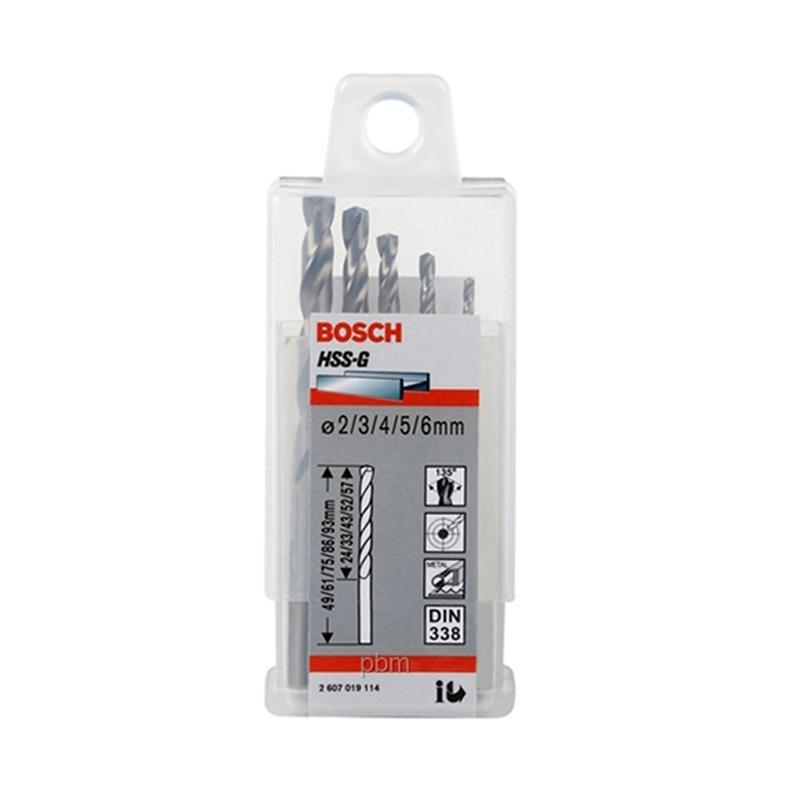 Bosch HSS-G Set Drill Bits [5 pcs]