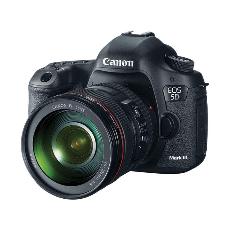 Canon EOS 5D Mark III Kit 24-105mm Kamera DSLR - Black