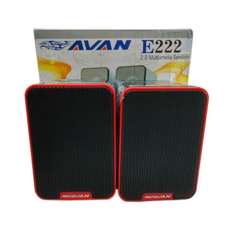 OEM E22 Avan Speaker Portable - Merah