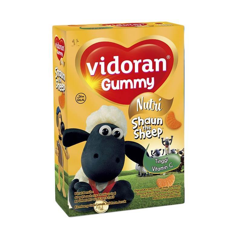 Vidoran Gummy Vitamin C [60 g]