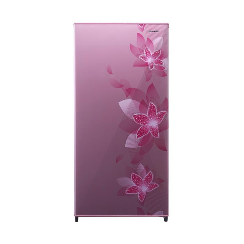 SHARP SJN181D-FP Kulkas New Design  [1 Pintu/157L] Pink