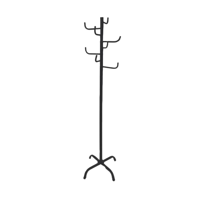 Krisbow Stand Hanger - Black and  red