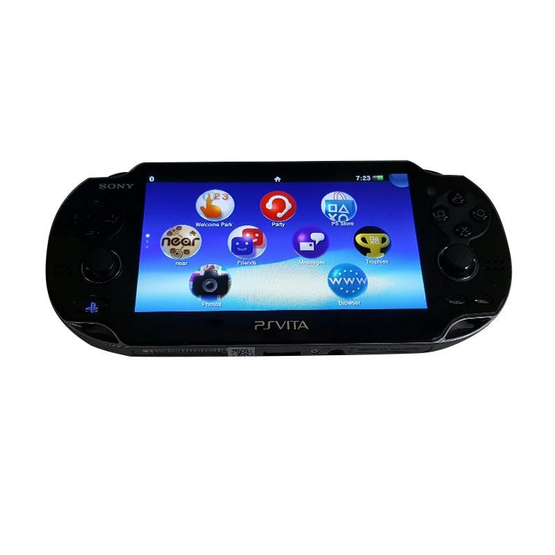 SONY PS Vita Fat CFW - Black [Micro SD 32 GB Full Games]
