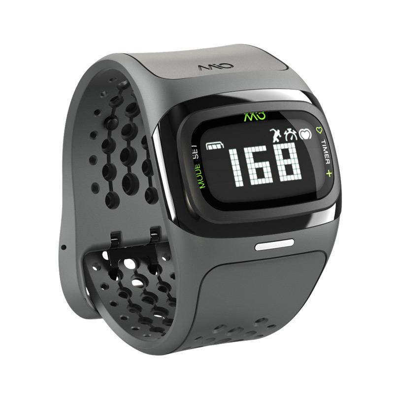 MIO Alpha 2 58P Heart Rate Watch - Black