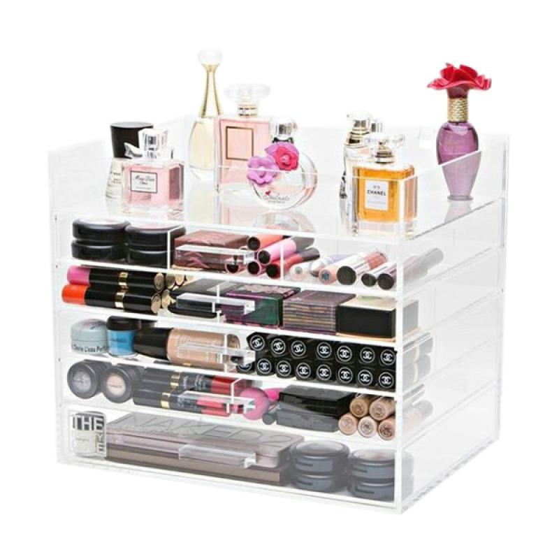 Acrylic Tipe D2 Makeup Organizer