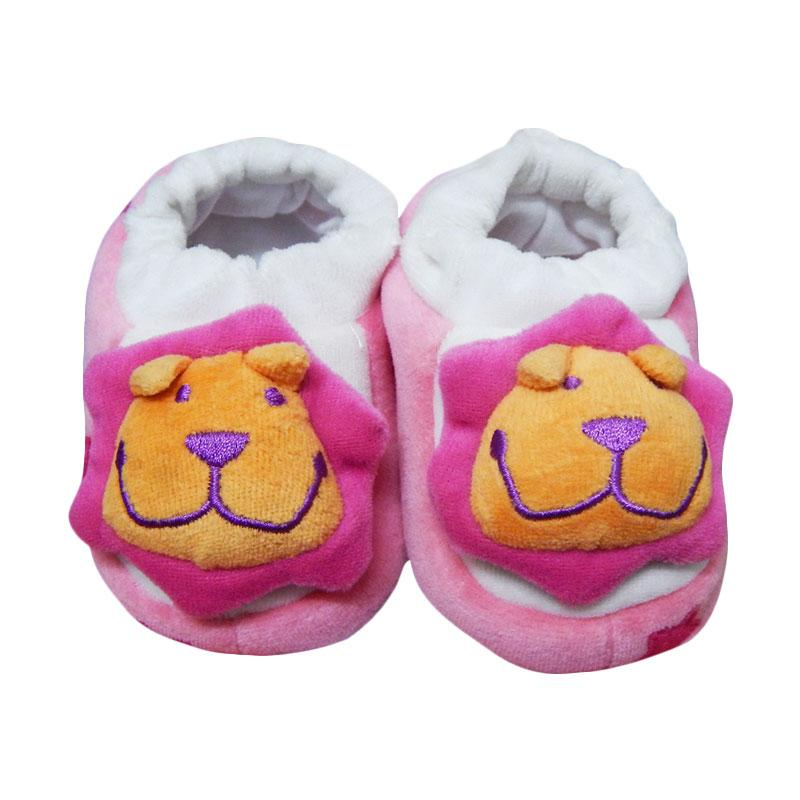 Wonderland Baby Sock Rattle Lion Kaos Kaki Bayi