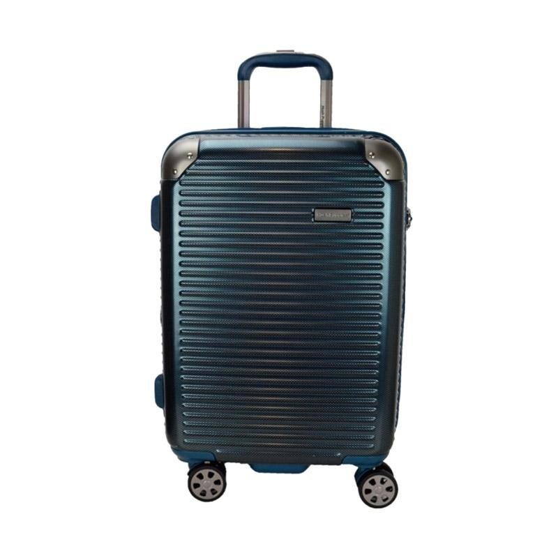 Hush Puppies 694013 Polycarbonate Hard Trolley Case Luggage - Blue [29 inch]