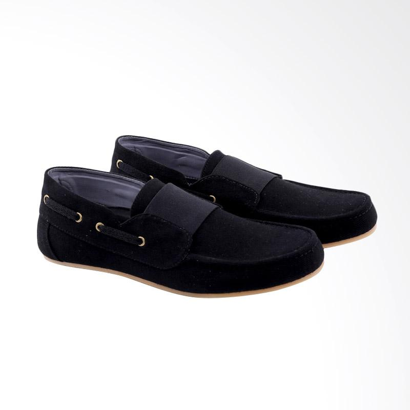 Garucci Slip On Shoes Pria - Black GWA 1270