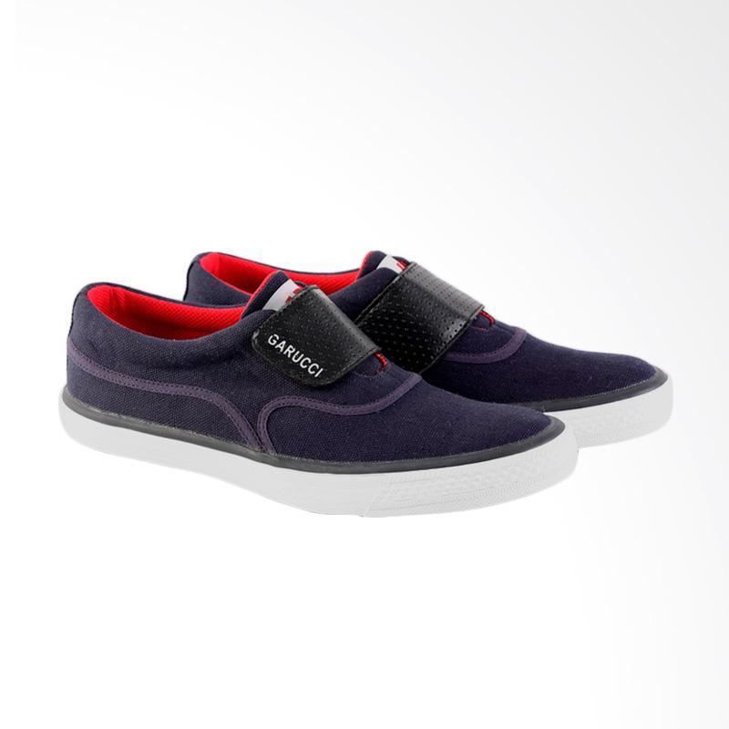 Garucci Slip On Shoes Pria - Blue GJE 1227