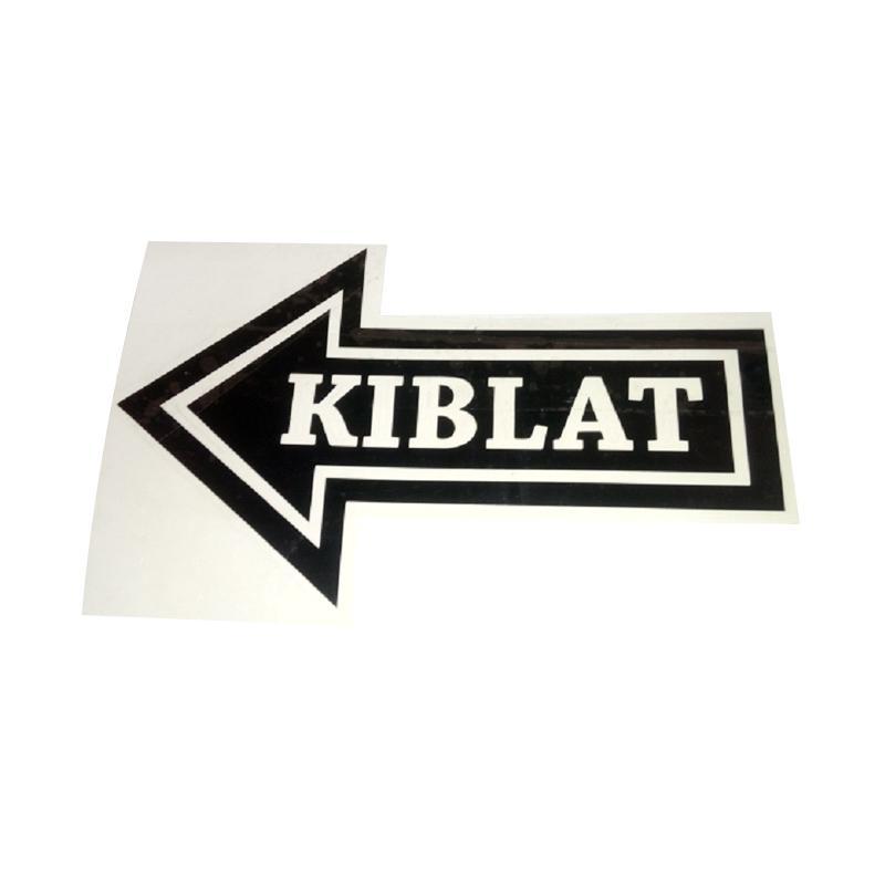 OEM Arah Kiblat Sign Sticker
