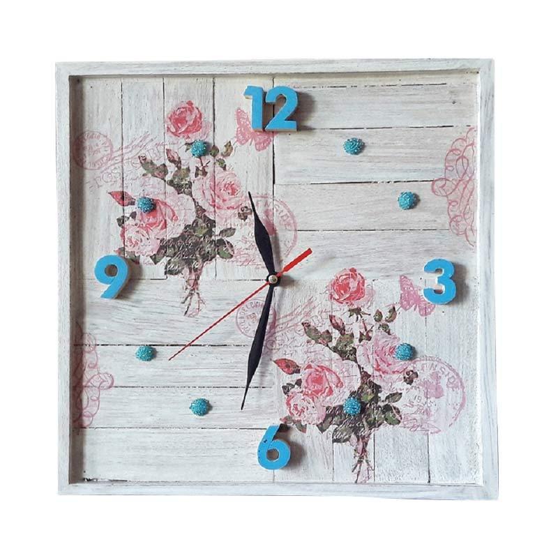 Svarti Bali SBK 01 Vintage Clock Jam Dinding
