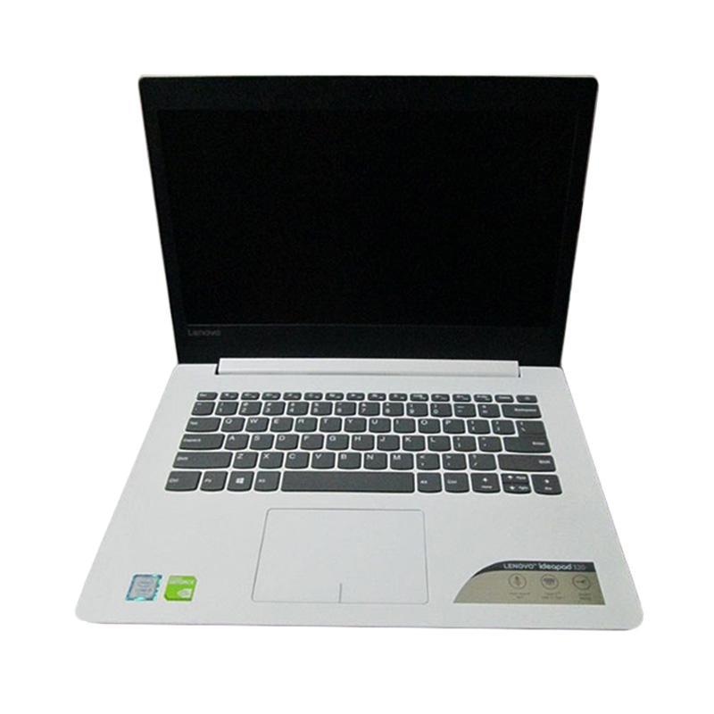 Lenovo IP320-14ISK - 80XG0018ID Notebook - Blizzard White [Ci3-6006U 2GHz/4GB/1TB/Intel HD/14 Inch]