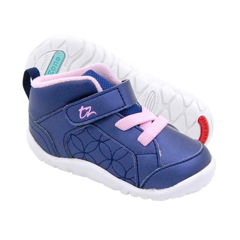 Toezone Kids Orville Fs Sepatu Anak Perempuan - Navy Pink