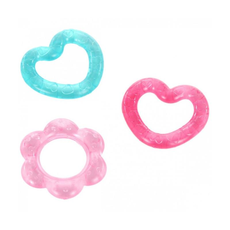 Bright Starts Pretty in Pink Chill and Teethe Teether Bayi