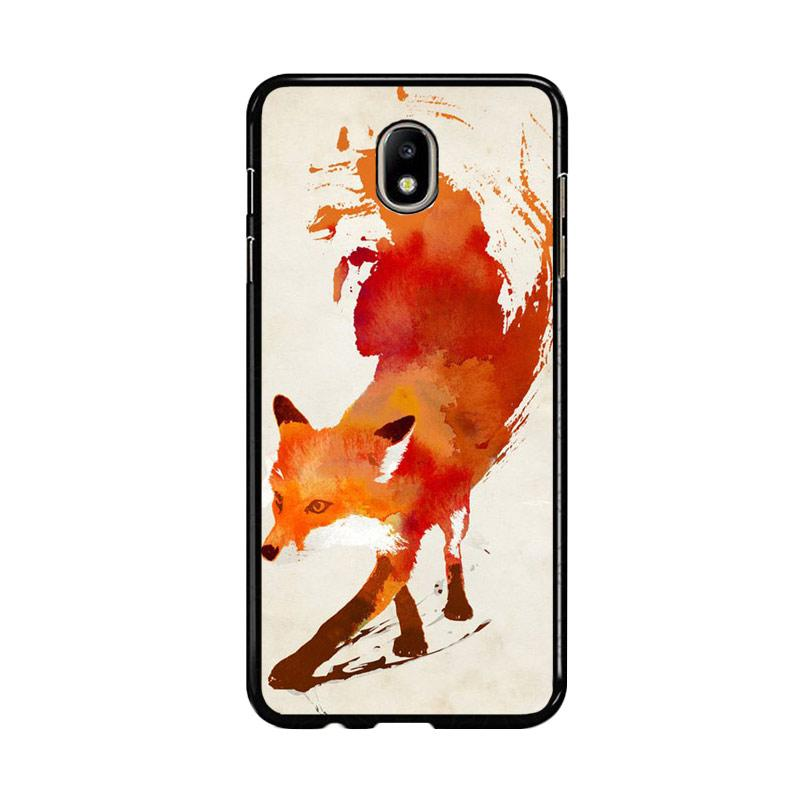 Flazzstore Watercolor Art Orange Red Fox Animal F0246 Custom Casing for Samsung Galaxy J5 Pro 2017