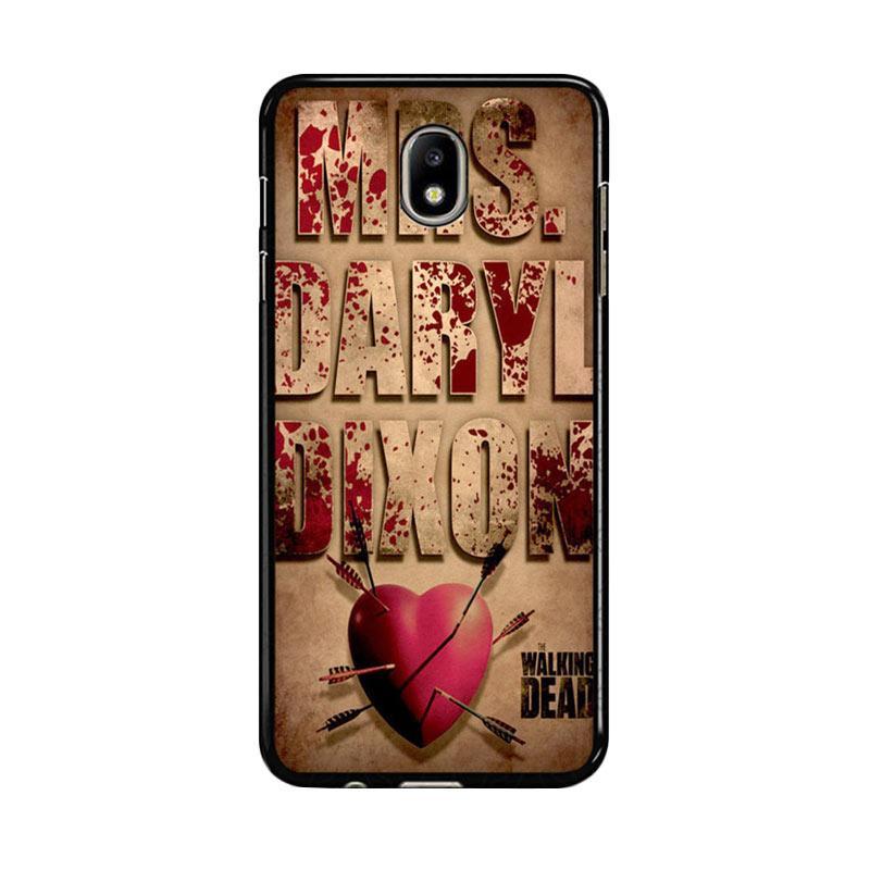 Flazzstore The Walking Dead Mrs Dixon Z0702 Custom Casing for Samsung Galaxy J7 Pro 2017