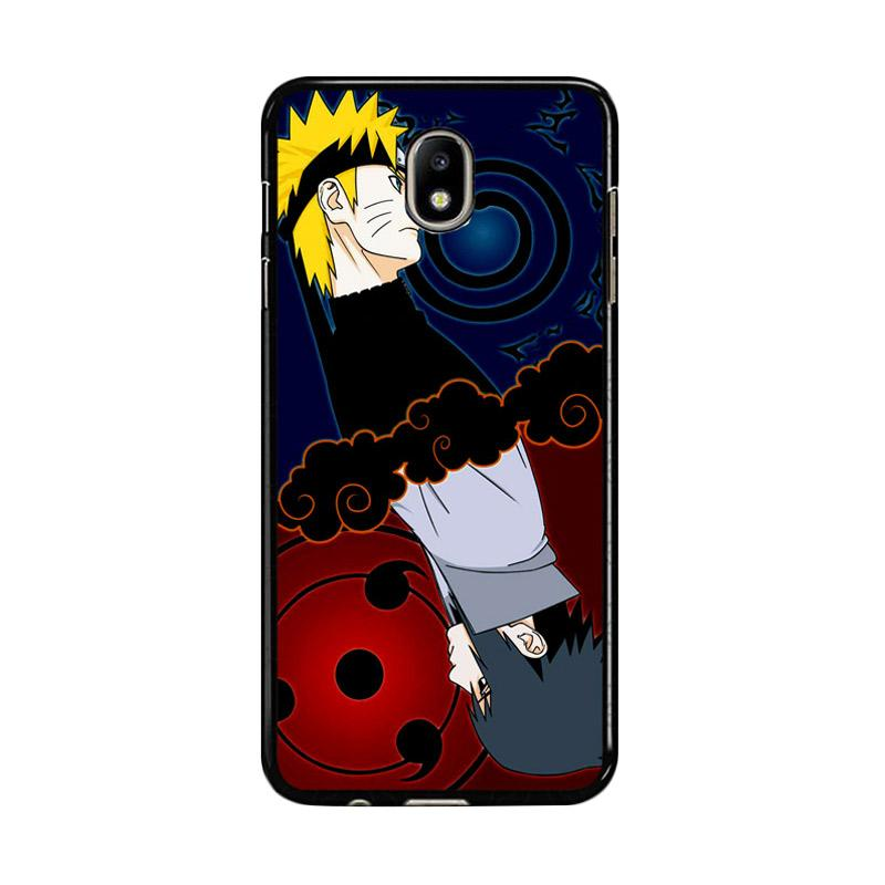 Flazzstore Naruto And Sasuke Z0739 Custom Casing for Samsung Galaxy J5 Pro 2017