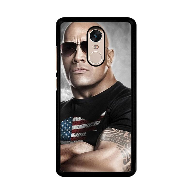 Flazzstore The Rock Dwayne Johnson Z0786 Custom Casing for Xiaomi Redmi Note 4 or Note 4X Snapdragon Mediatek