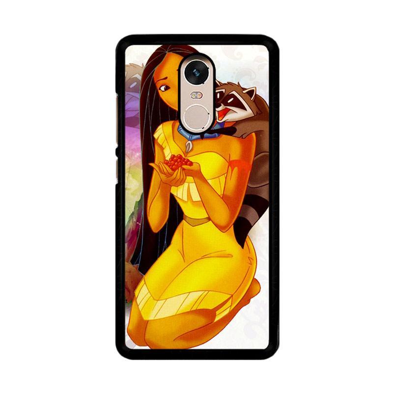 Flazzstore Pocahontas Z1429 Custom Casing for Xiaomi Redmi Note 4 Note 4X Snapdragon Mediatek