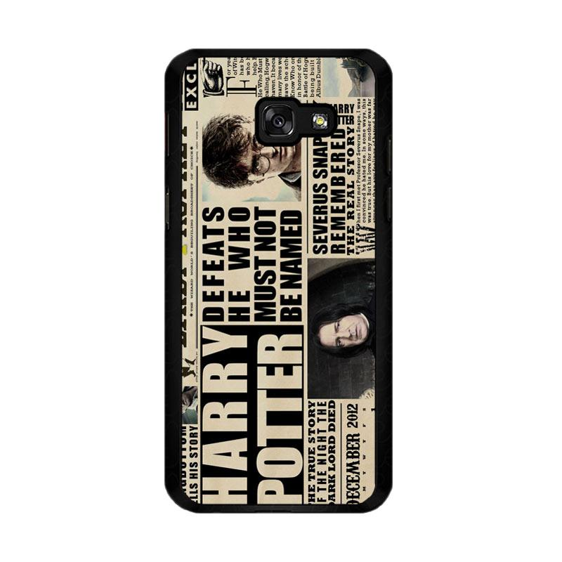 Flazzstore December2012 Harry Potter Daily Prophet F0163 Custom Casing for Samsung Galaxy A5 2017