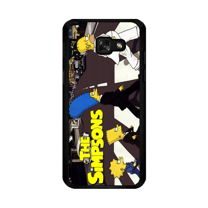 Flazzstore The Simpsons A Tribute The Beatles F0814 Custom Casing for Samsung Galaxy A5 2017