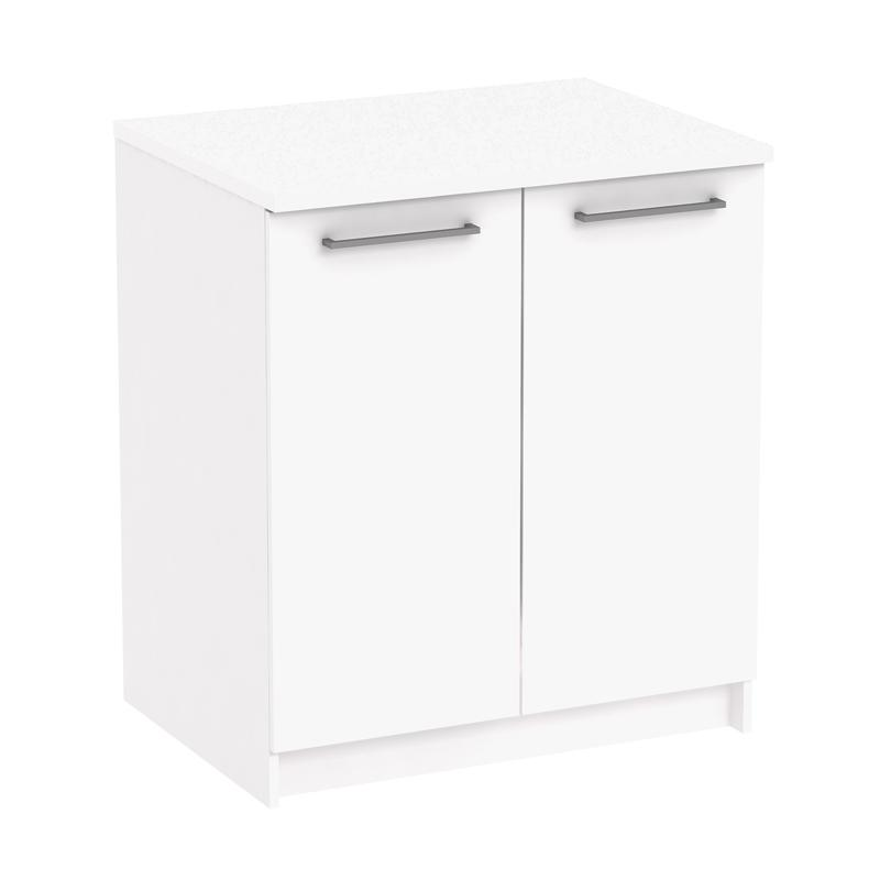 Pro Design Oklava Kabinet Dapur - White Glossy [2 Pintu]