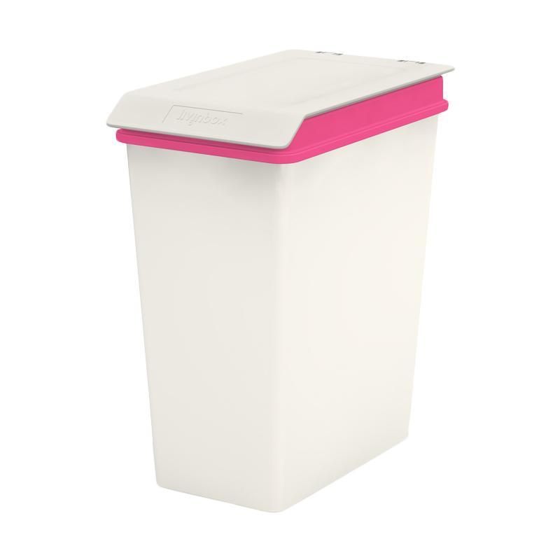 Livinbox SHUTER MHB-10L Pelican Recycle Bin Tong Tempat Sampah - Pink [10 L]