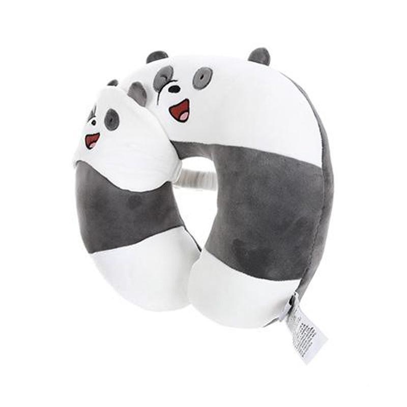 Miniso Official Panda We Bare Bears U shaped Neck Pillow