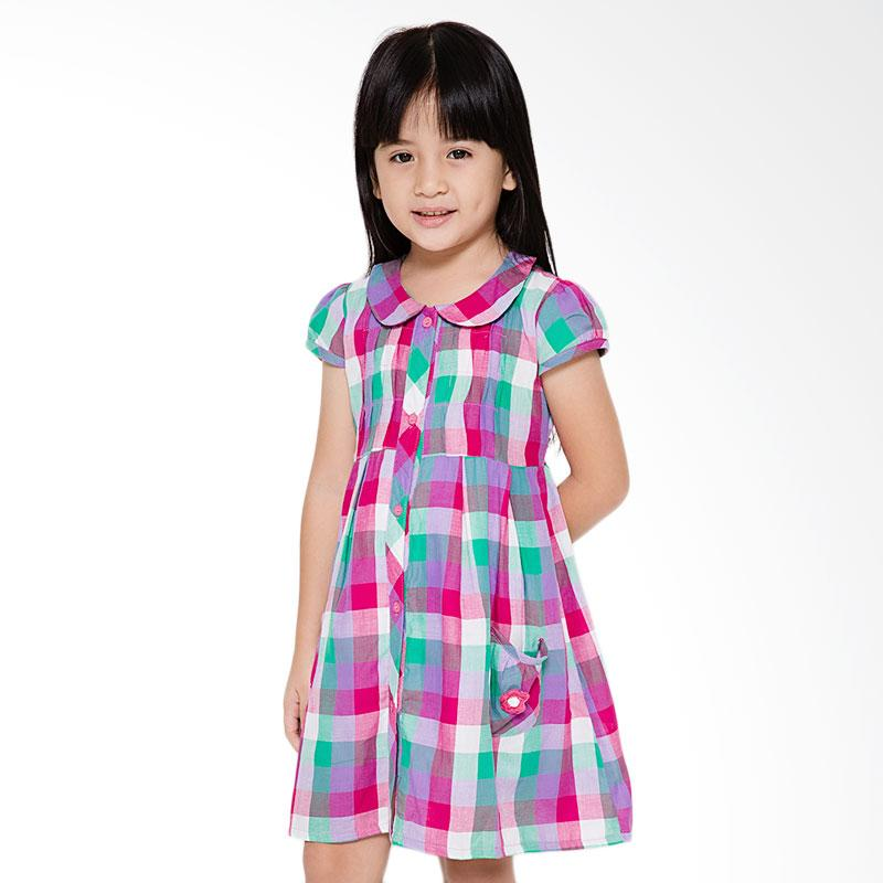 4 You Choir Collar Dress Anak - Ungu