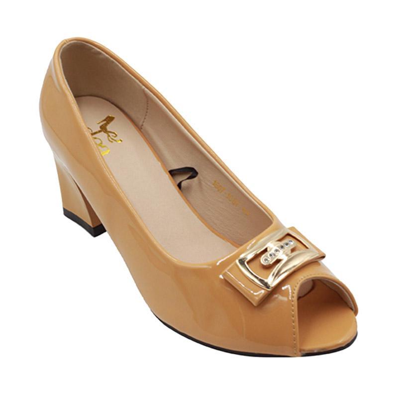 Dea 1607-1687 Sepatu Fantofel Wanita - Khaki