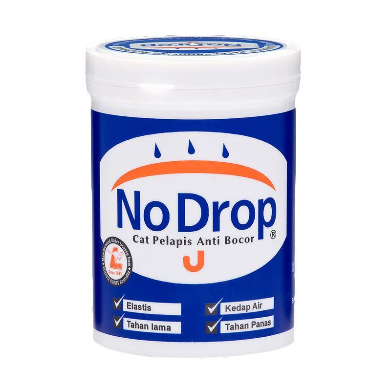 NO DROP 002 Cat Pelapis Anti Bocor - Abu-Abu [1 kg]
