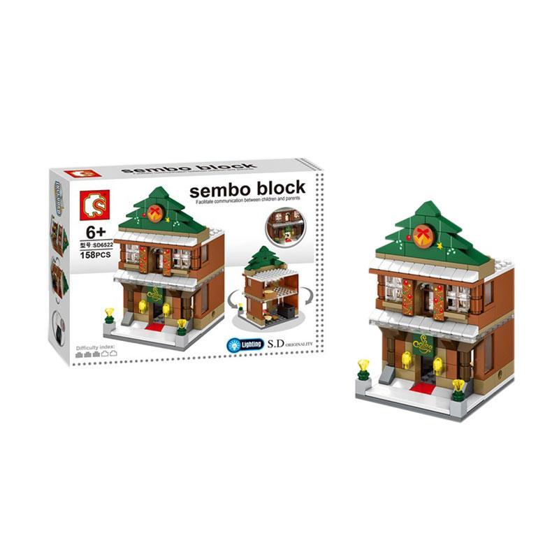 Sembo SD6522 Coffee Shop Mini Block