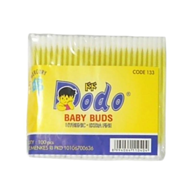 DODO Cotton Bud Baby - Kuning [100 pcs]