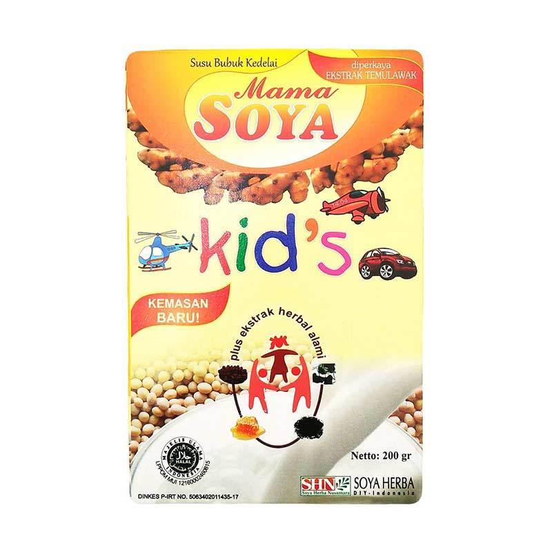 Mama Soya Kids Soya Susu Kedelai Susu Formula [200gr]