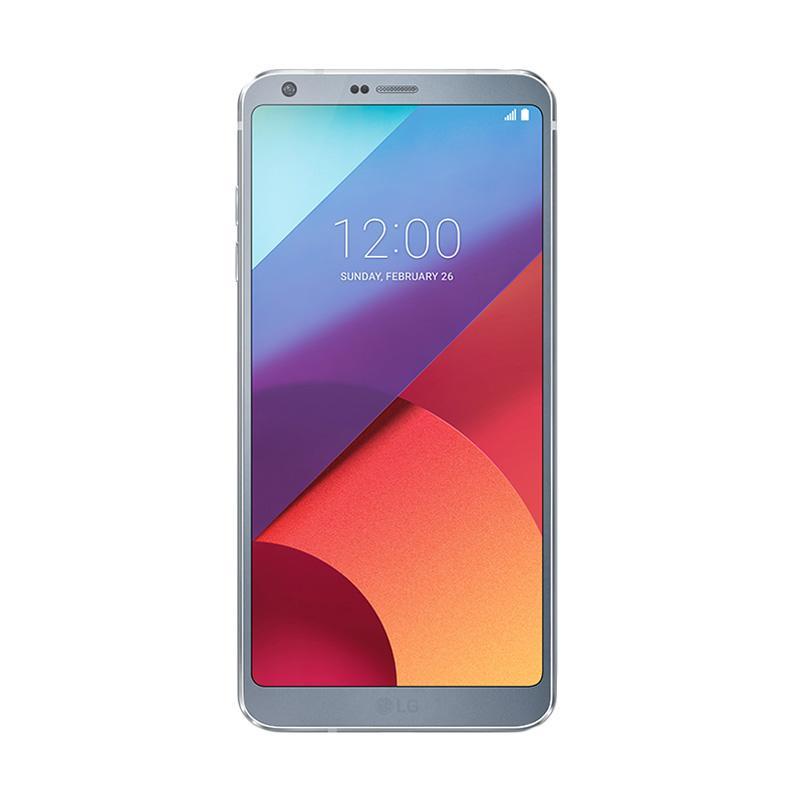 LG G6 Smartphone - Ice Platinum [64 GB/4 GB] Garansi RESMI LG Indonesia 1 Tahun
