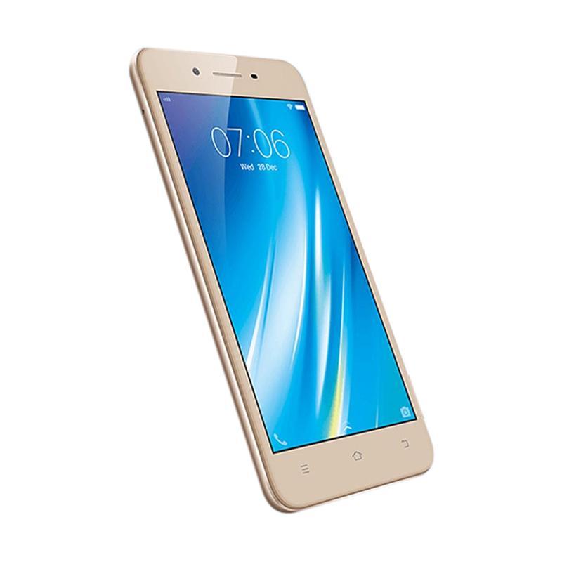 Vivo Y53 Smartphone - Gold [16 GB/2 GB]