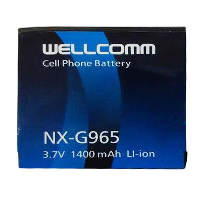 Welcomm Baterai for Nexian NX-G965 - Biru [1400 mAh]