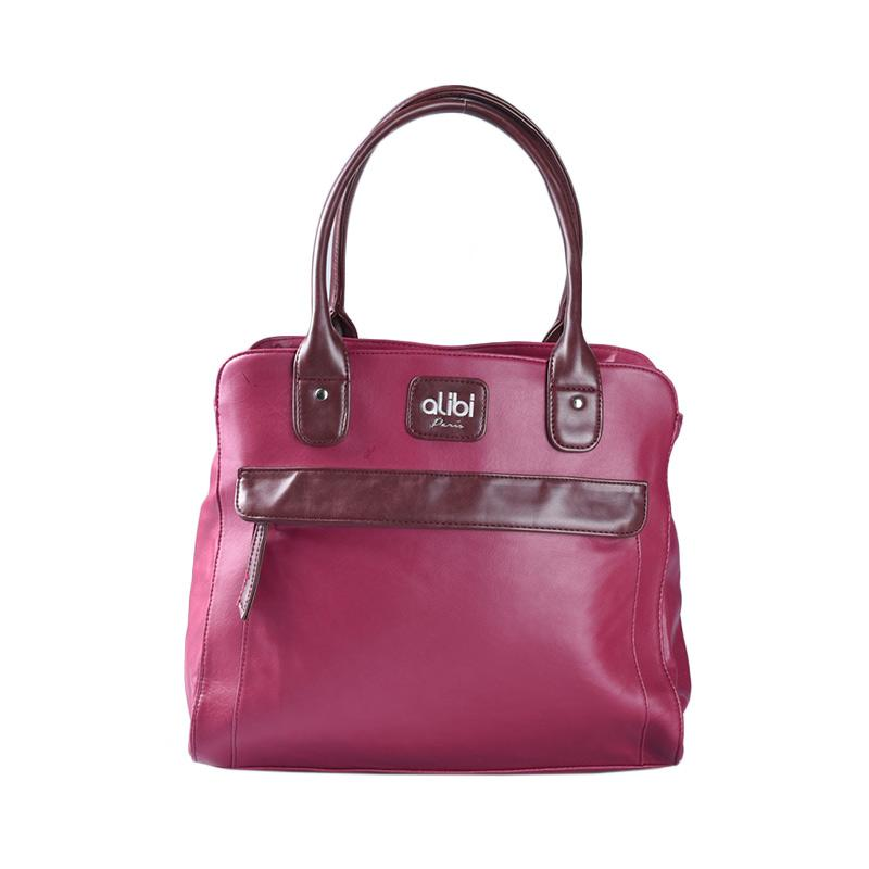 Alibi Lorray T0868B2 Tote Bag - Berry