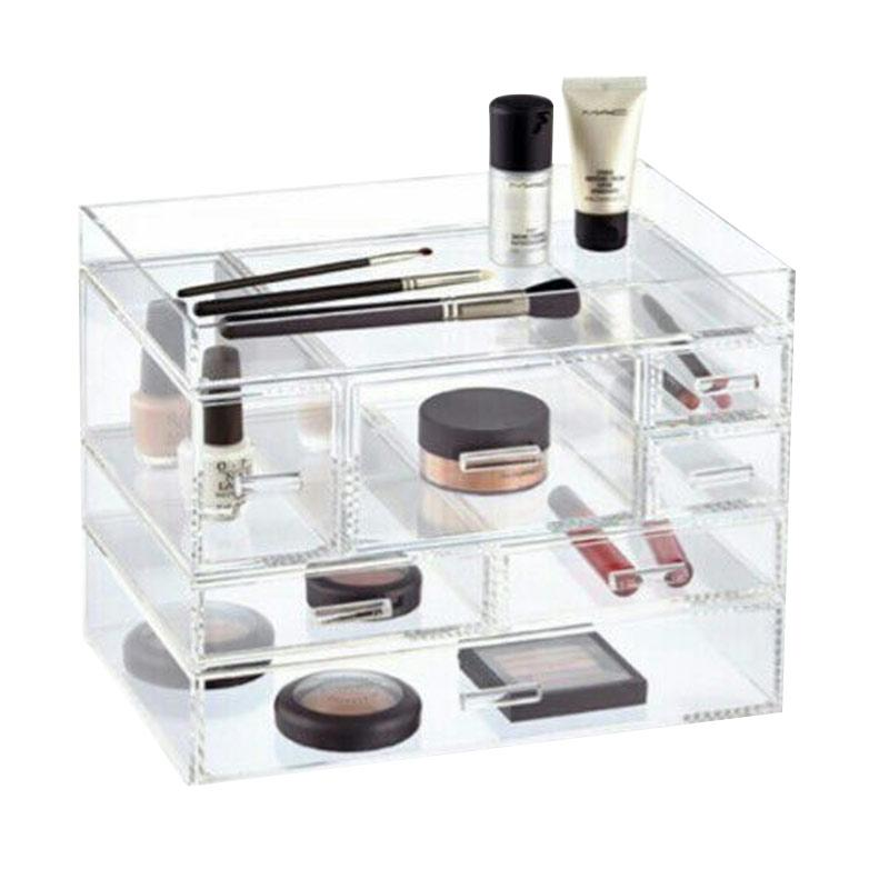 Acrylic Makeup Tipe I Cosmetic Organizer - Clear