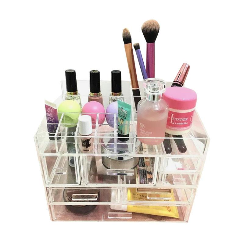 Acrylic MakeUp Tipe I2 Make Up Organizer