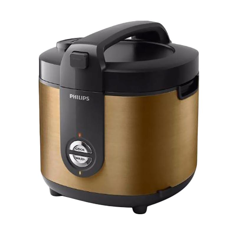 PHILIPS HD-3128 Rice Cooker - Gold