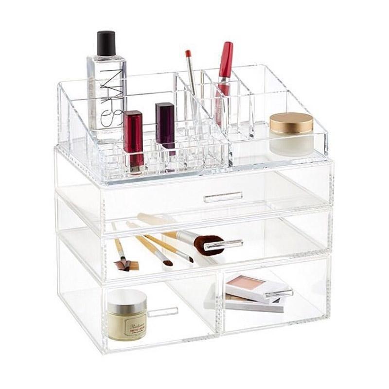 Acrylic Makeup Tipe K Cosmetic Organizer