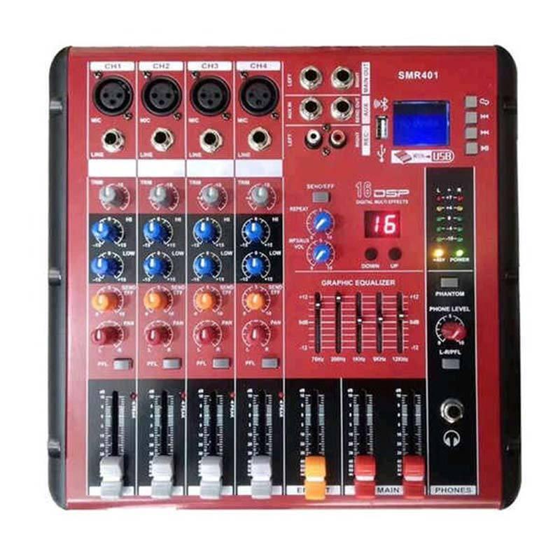 harga Dusen Berg SMR 401 4 ch Mixer Audio Blibli.com