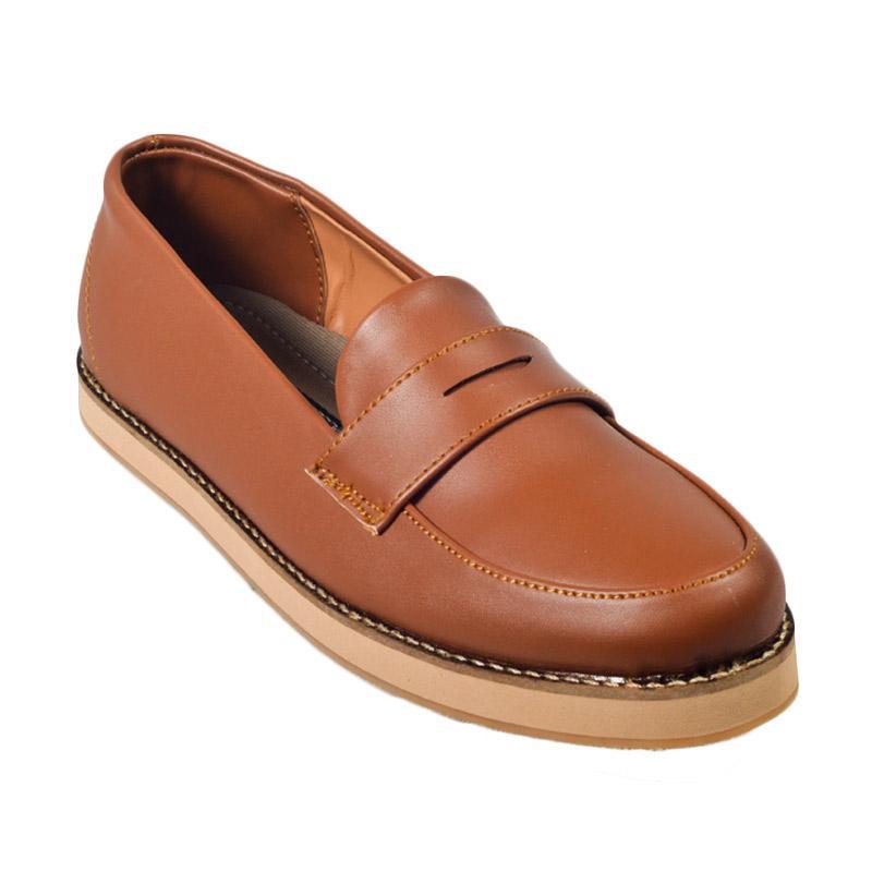 Giant Flames Soka Sepatu Wanita - Brown